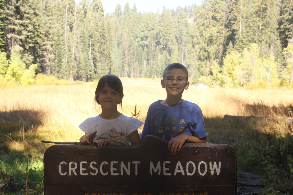 Crescent Meadow hike