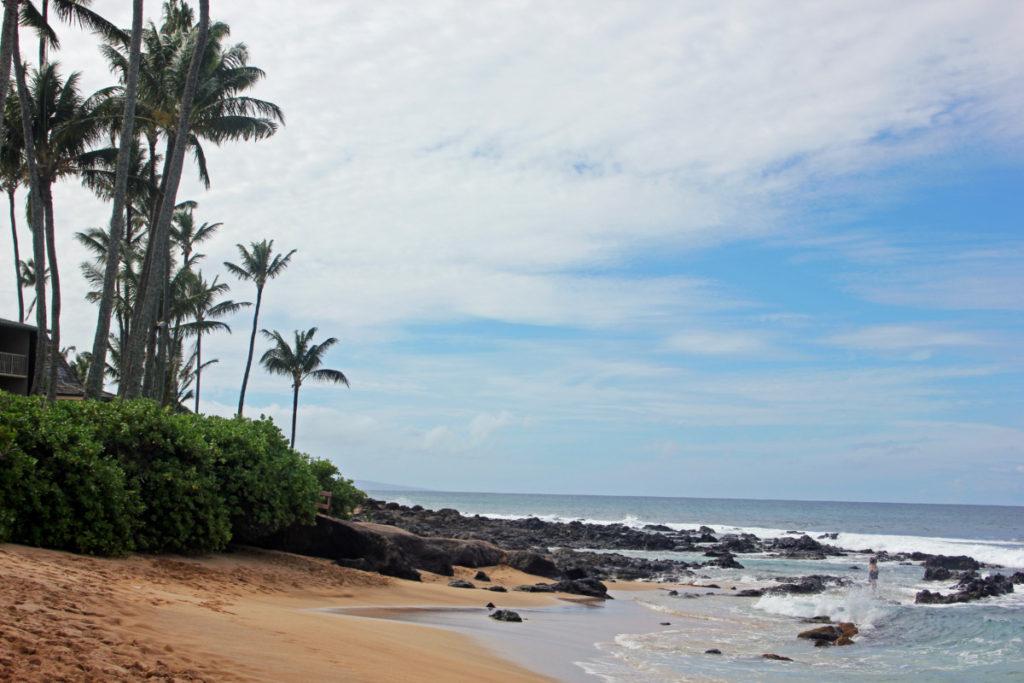 Ka'apalua Bay on Maui, Hawaii