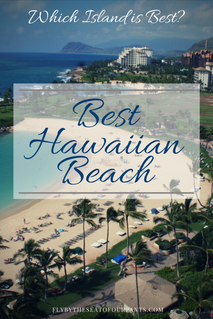 Which island is best? Best Hawaiian Beach pin