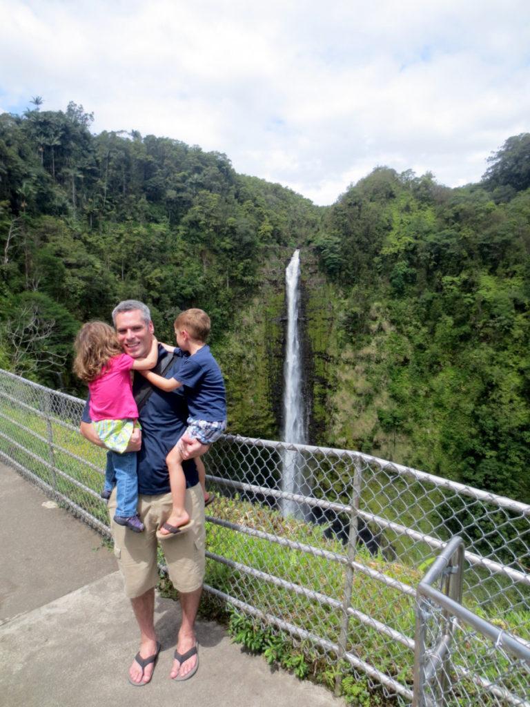 Akaka Waterfall on Big Island, Hawaii