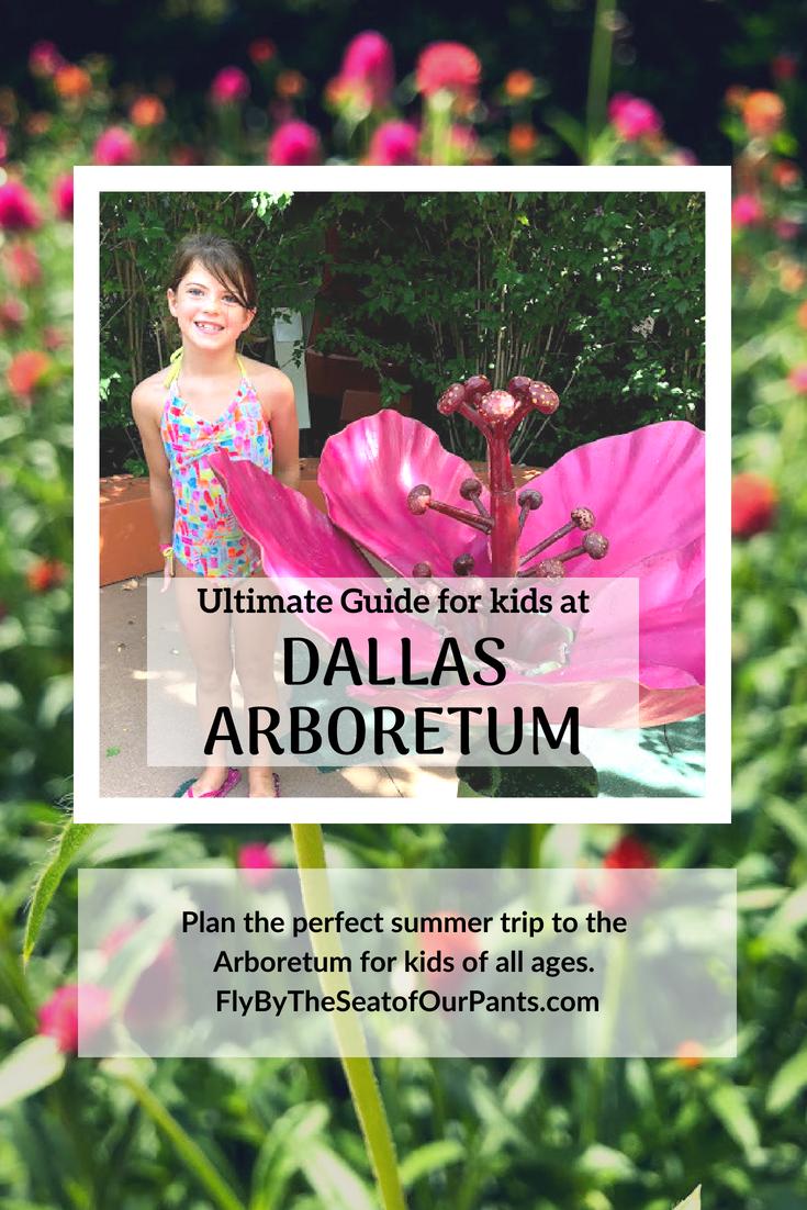 Kids guide to the Dallas Arboretum and Children's Garden