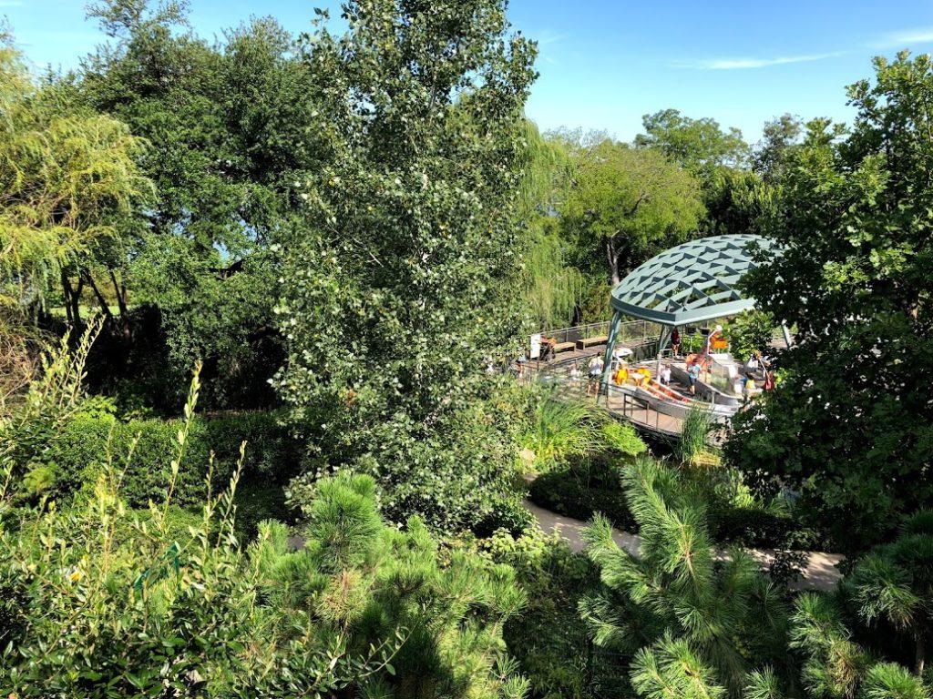 View from Dallas arboretum