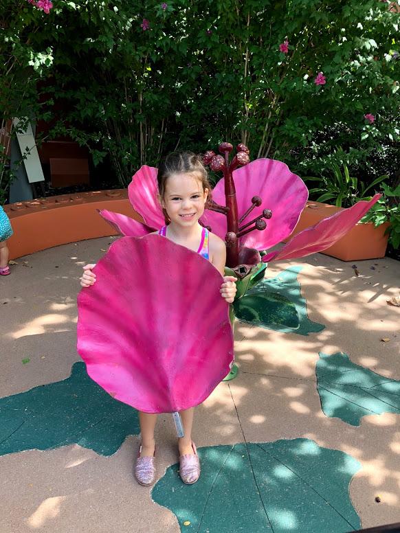build a Flower at Dallas Arboretum
