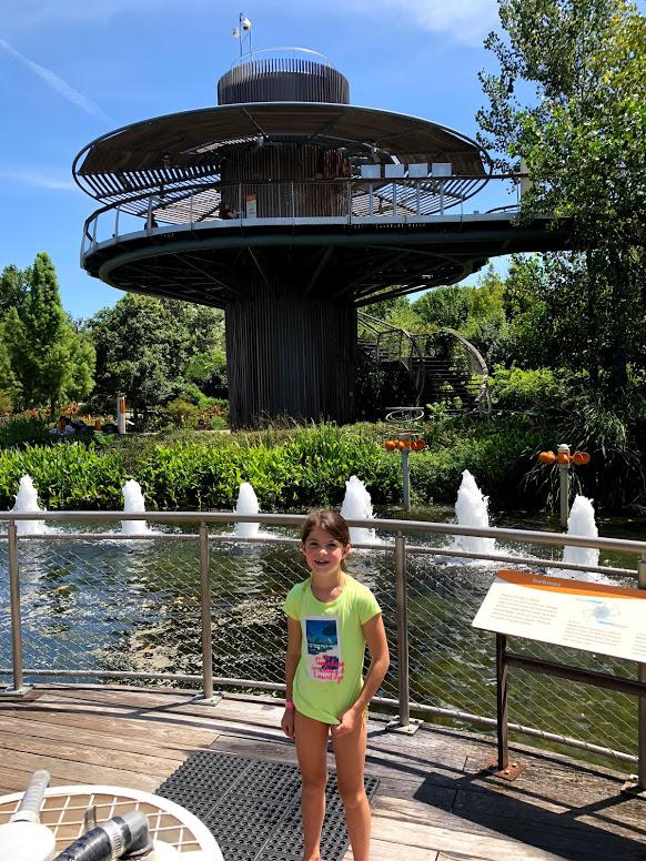 Water works at Thomas Picken Energy at Dallas Arboretum