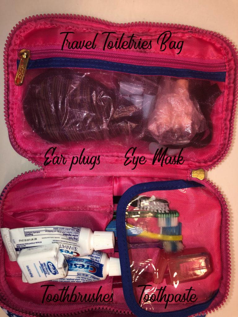 Travel Toiletry bag