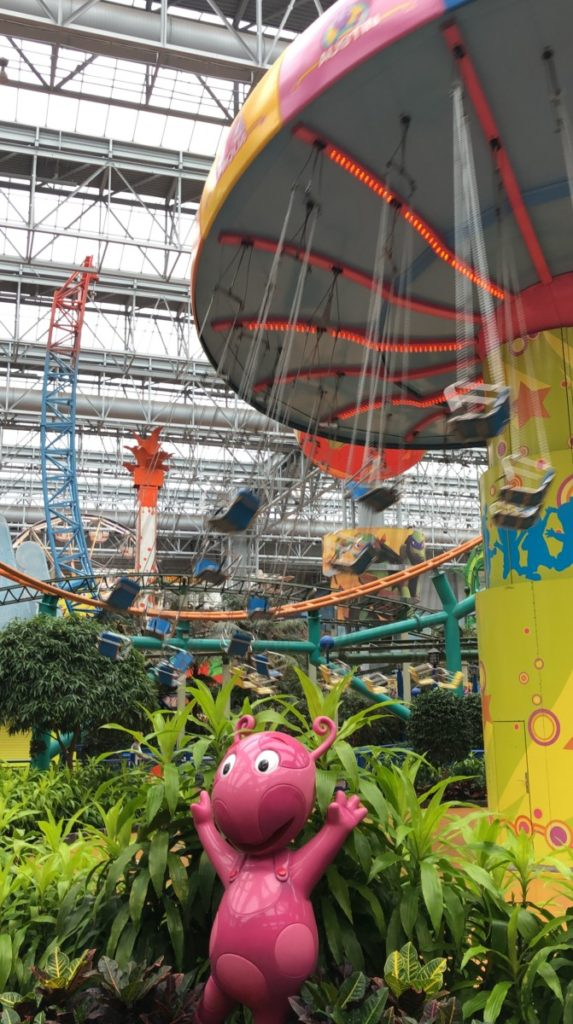 Backyardigans Swing-Along at Mall of America in Minneapolis, Minnesota