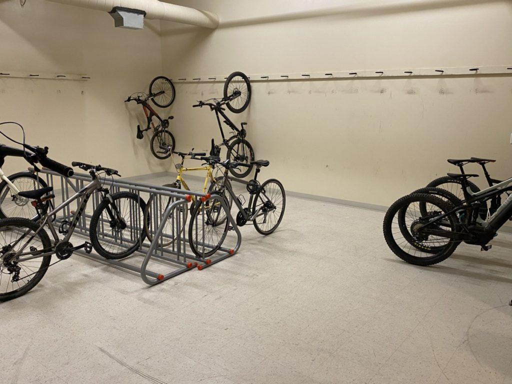 Bike Room at Hyatt Place Moab