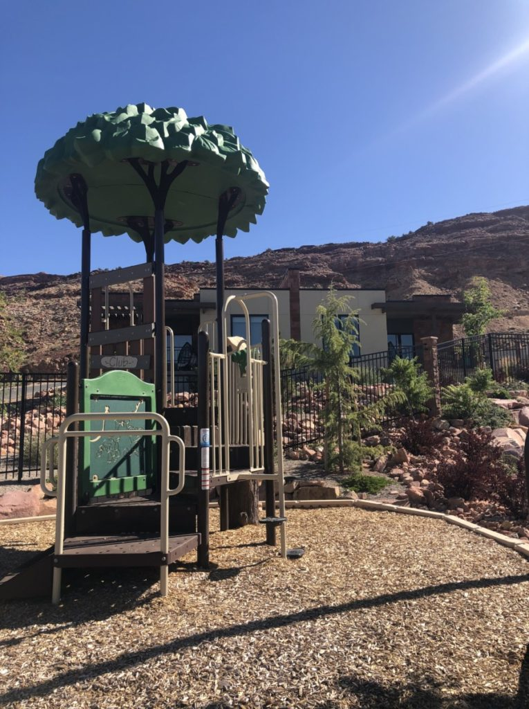 Playground at Hyatt Place in Moab
