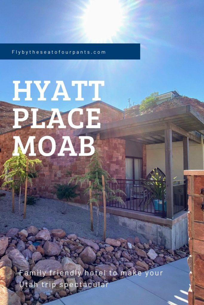 Pin for Hyatt Place Moab Hotel