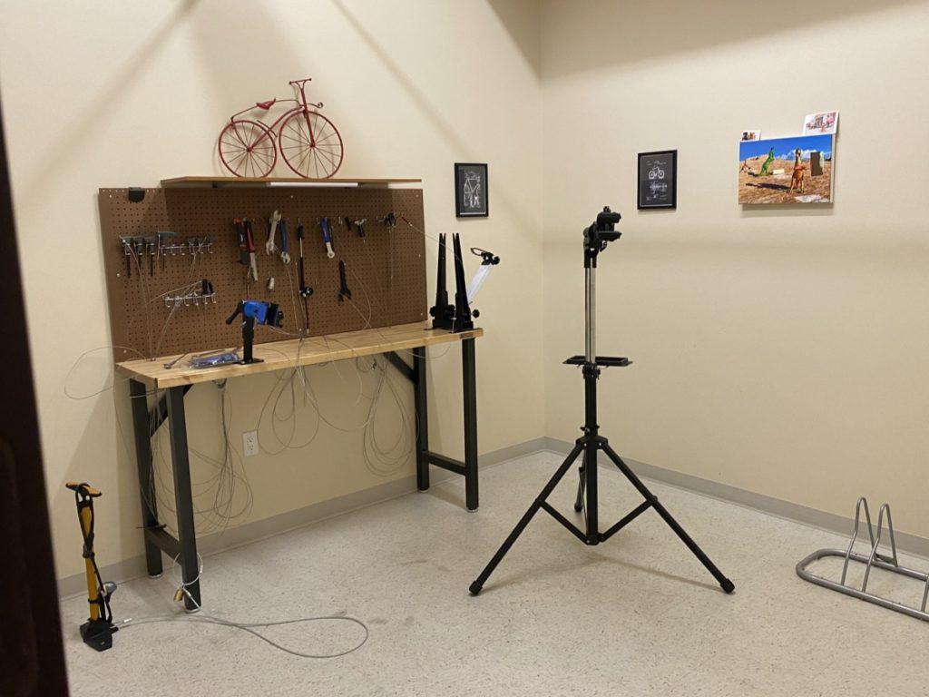 Hyatt Place Moab Bike Repair Shop