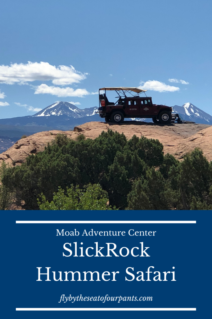 pin for Moab Adventure Center Tours