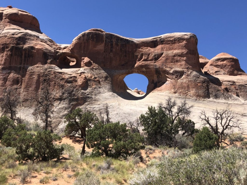 Tunnel Arch in Arches National Park