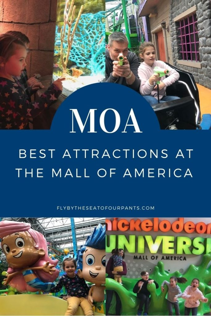 pin for the Mall of America Kids experiencing Nickelodeon Universe