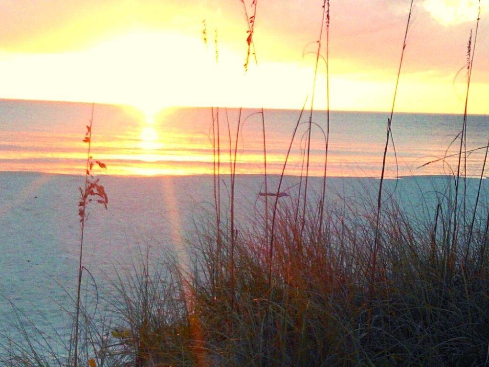 Anna Maria Island sunset on the beach